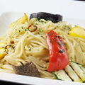 料理メニュー写真季節野菜のぺペロンチーノ