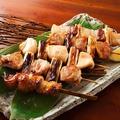 料理メニュー写真九州串焼き5種盛合せ