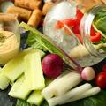 料理メニュー写真●バーニャフレッダ~とれたて有機野菜の詰め合わせ~