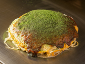 お好み焼きと牡蠣 殻○