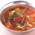 料理メニュー写真タッケジャンスープ