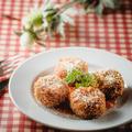 料理メニュー写真バジル風味のライスコロッケ