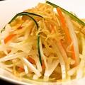 料理メニュー写真干し貝柱と根菜のサラダ