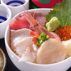 白石海鮮丼(大盛り無料)