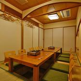 【個室8~10名様】広々した10名様個室は中規模宴会におすすめ。和の情緒溢れる特別なひと時を…。