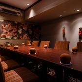 【予約必須の個室】8~12名様用の完全個室が3部屋ございます。可動式の壁を外して20~48名様のパーティーにも対応出来ます。ご予約はお早めに。
