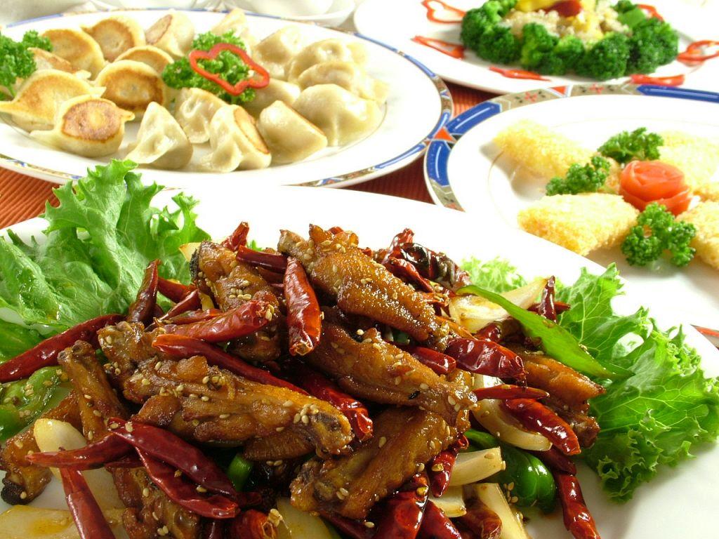 自慢の中国料理は種類豊富!