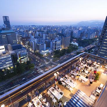 ANAクラウンプラザホテル広島 ルーフトップ ビアガーデンの雰囲気1