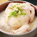 料理メニュー写真自家製 参鶏湯(サムケタン)