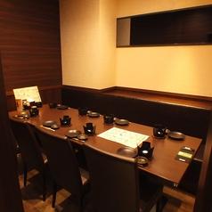 気軽なお食事にも最適な店内です。【大森で居酒屋・蟹・海鮮・和食のお店をお探しなら北海道へ】