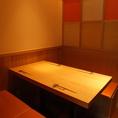 2名様から6名様までご利用頂けるテーブルを個室でご用意しております!デートや接待など落ち着いた雰囲気で美味しいお食事とお酒がお楽しみ頂けます!