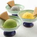 料理メニュー写真豆乳アイス (抹茶/黒胡麻/キャラメル)