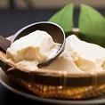 【素材へのこだわり4】自家製豆腐は味が濃くて濃厚!薬味と出汁醤油で♪