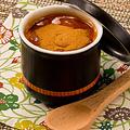 料理メニュー写真ほうじ茶ティラミス