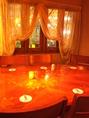 おおきなダイニングテーブルで小宴会も