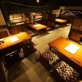 【広々の中二階席】4~最大24名様までOKの、座敷席です。大型宴会に最適です。