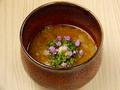料理メニュー写真焼き茄子の冷製茶碗蒸し