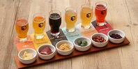 【6種のクラフトビールを飲み比べ】