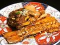 料理メニュー写真【煮物・蒸し物】鯛のあら焚き/かまあら焚き