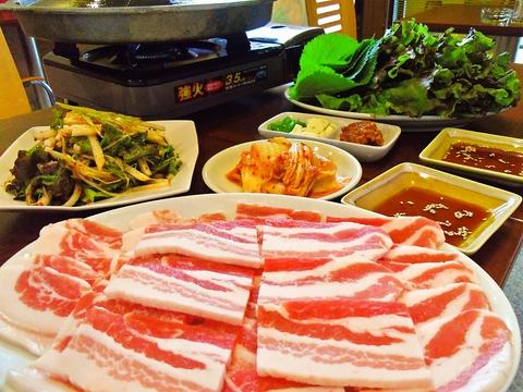 韓国直送のこだわり素材で作られる料理に注目。地元に愛される韓国料理の名店。