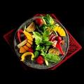 料理メニュー写真季節野菜のバーニャカウダー 味噌ディップ