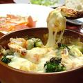 料理メニュー写真海老と温野菜のグラタン