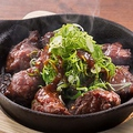 料理メニュー写真■牛カルビ鉄板焼き