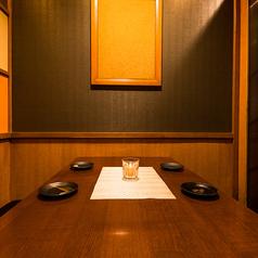 少人数様~団体様までご利用可能なプライベート個室席を多数ご用意しております。お客様のご宴会シーンにぴったりなお席が見つかること間違いなし!