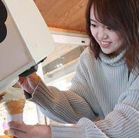 自分で作れるソフトクリーム