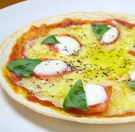 大人気の有機トマトのマルゲリータ
