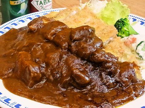 また食べたくなる洋食メニューがずらり★ボリュームたっぷりカツカレーは人気No.1!