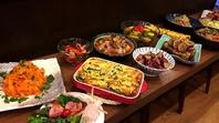 季節食材を使用したおばん菜料理