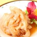 料理メニュー写真あっさりとした上質なくらげの冷菜