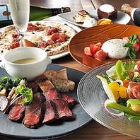 国産牛赤身肉×季節の野菜×チーズフォンデュ★