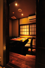 個室は全15室。さまざまな人数に対応可能