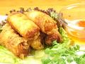 料理メニュー写真ベトナム風春巻き