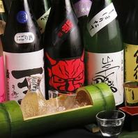 新潟の地酒を各種ご用意!