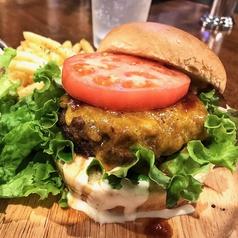 函館大沼牛100%ビーフハンバーガー(ポテトフライ付き)