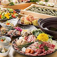 こだわりの旬野菜と漁港直送の新鮮魚介を使ったお料理!