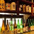 銘柄日本酒&幻の焼酎ございます。