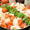 料理メニュー写真フーリー特製トマトもつ鍋♪トマトの酸味であっさりヘルシー★