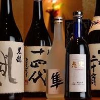 仙台でもTOPクラスの地酒・本格焼酎の品揃え