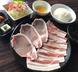 ボリューム満点!お肉が2種類豚焼きすき定食!!
