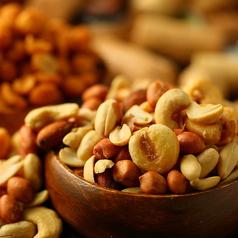 料理メニュー写真●ハニーローストナッツ
