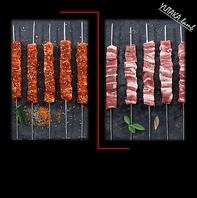 ラムバラ肉串