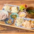 料理メニュー写真宮崎県産桜姫鶏と鳥取県産大山鶏の究極のチキン南蛮定食