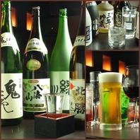 各種日本酒・焼酎など、豊富に取り揃え!