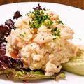 料理メニュー写真ズワイガニのポテトサラダ