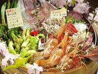 抜群の鮮度を誇る鮮魚!地元のお客様や観光客にも人気