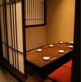 雰囲気抜群でゆったり語り合える…充実の個室空間。6名様までの個室から仲間の集まりに最適36名様個室も◎